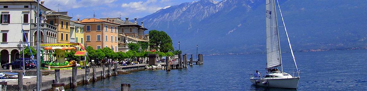 souvenirs de vacances italie sur le lac de Garde