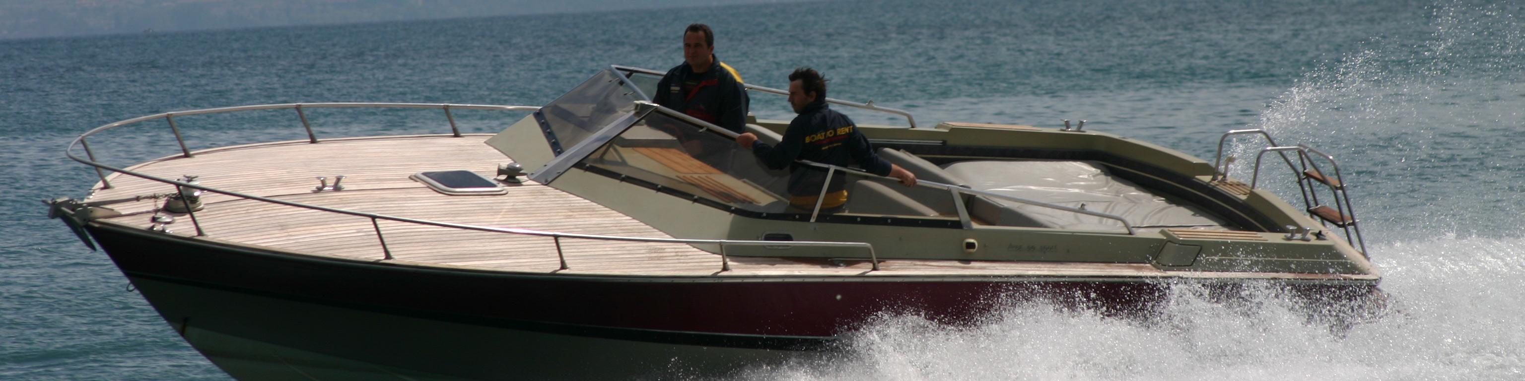 Lac de Garde  service de location de bateaux