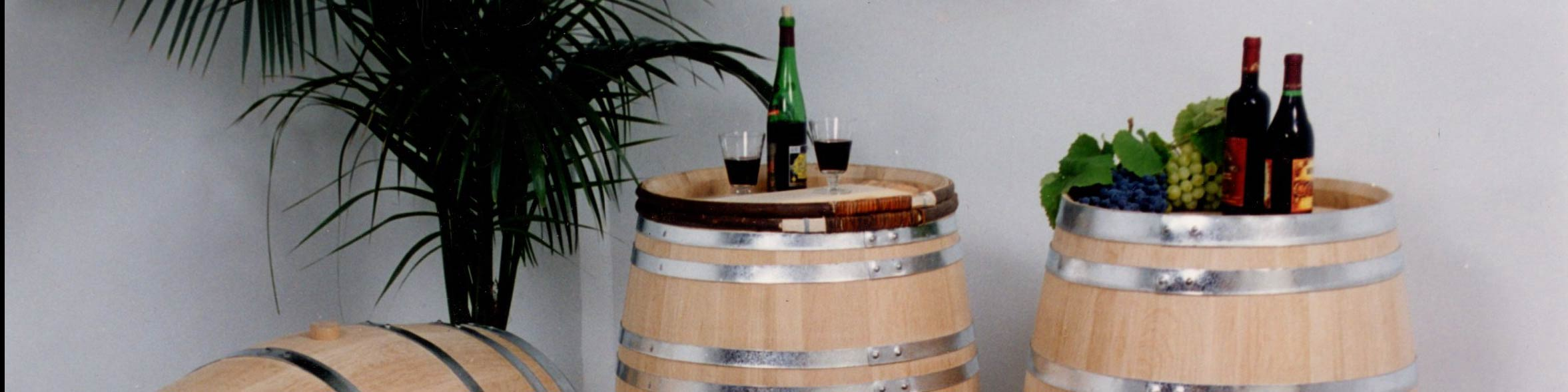 The wine trail offers products in the local area.