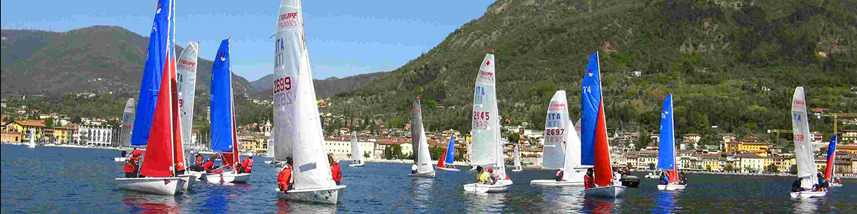 Lake Garda is the most sought after destination by sailors.
