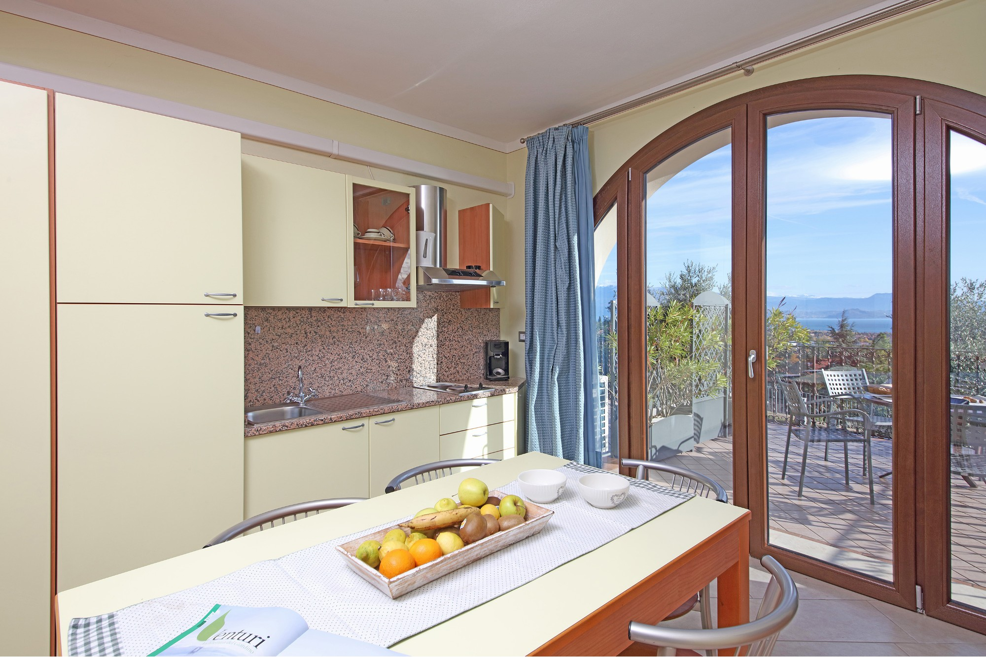 Residence San Rocco offers two-bedroom apartments for holiday