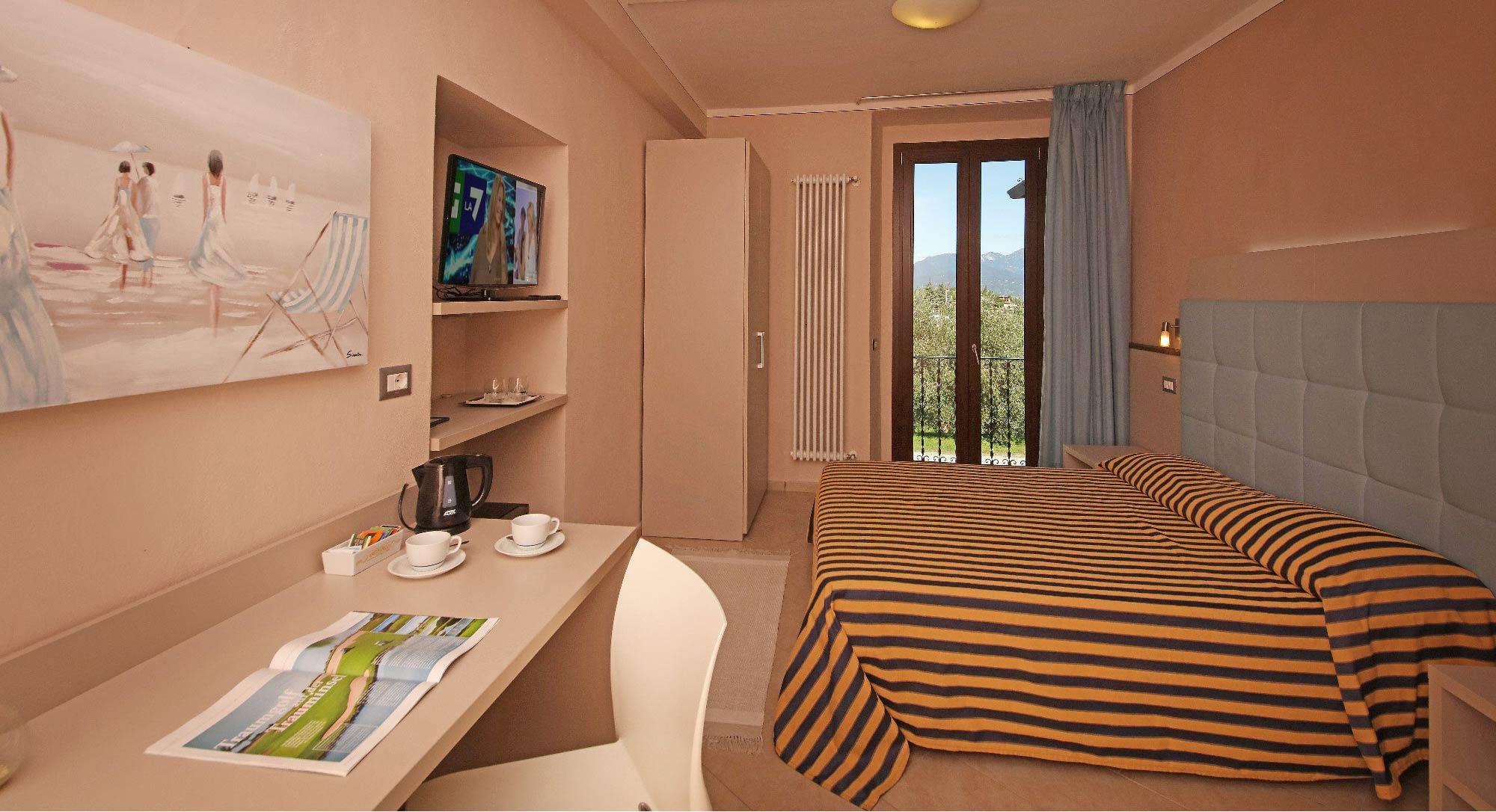 Chambres dans le residence  sur le Lac de Garde Soiano